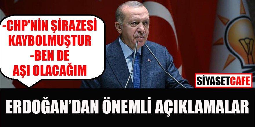 Erdoğan'dan flaş aşı açıklaması: 'Bende aşı olacağım'