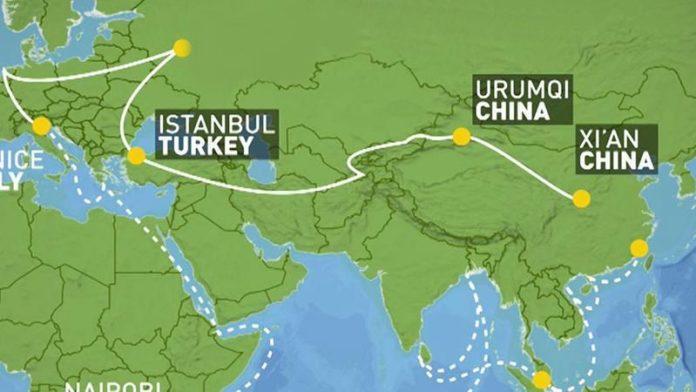 Çin'e ilk ihracat treni İstanbul'dan yola çıktı