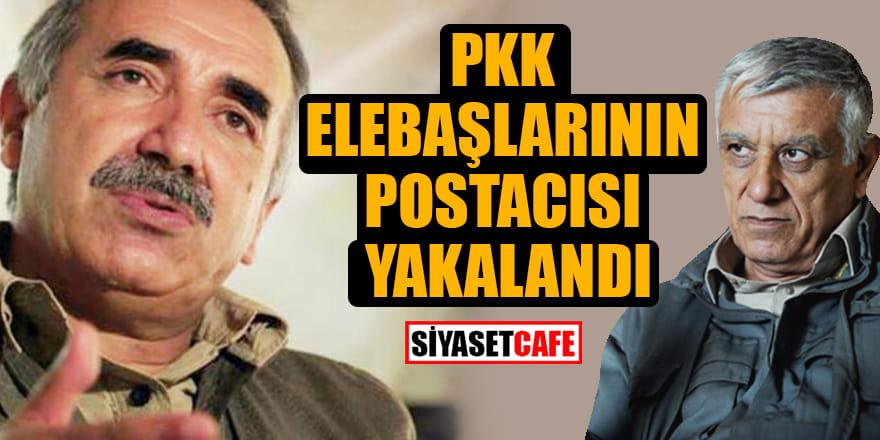 PKK elebaşları Murat Karayılan ve Cemil Bayık'ın postacısı yakalandı
