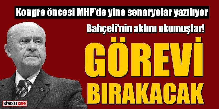 MHP'de kongre öncesi algı operasyonu: 'Bahçeli bırakacak'