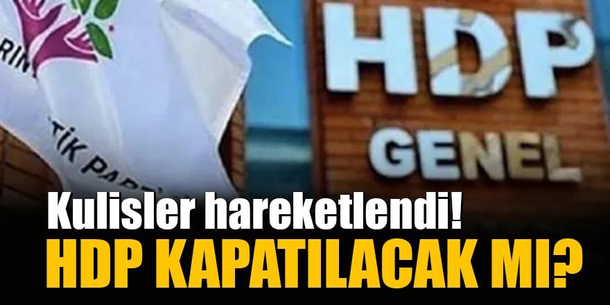 Kulisler hareketlendi! Reform süreci ne olacak, HDP kapatılacak mı?