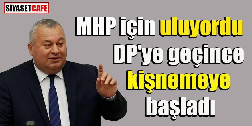 DP'ye geçen Cemal Enginyurt, Cumhur İttifakı'nı eleştirdi