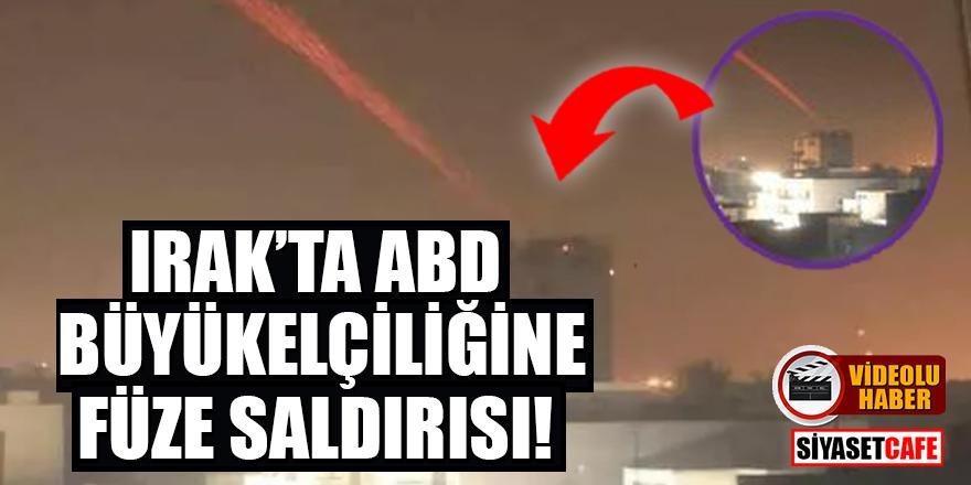 Irak'ta ABD Büyükelçiliğine füze saldırısı!