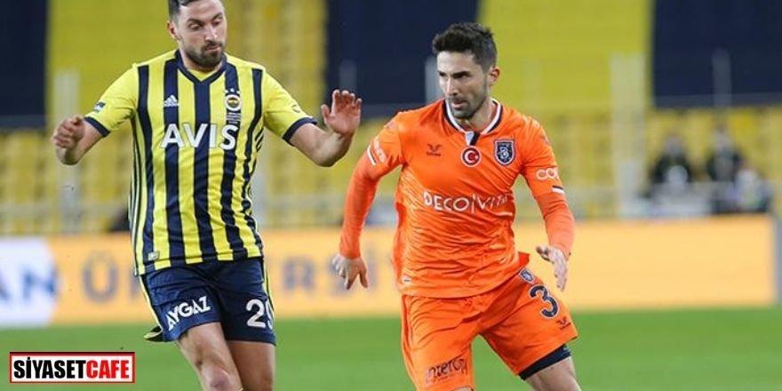 Fenerbahçe-Başakşehir maçında 5 gol 3 kırmızı kart