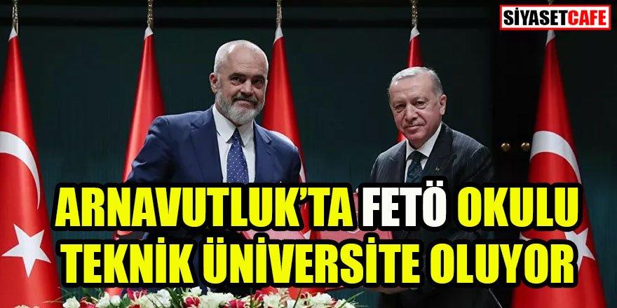 Erdoğan: FETÖ'nün Türkiye-Arnavutluk ilişkilerini zehirlemesine izin vermeyeceğiz