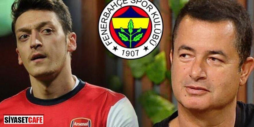 Acun Ilıcalı Mesut Özil transferiyle ilgili ilk kez konuştu