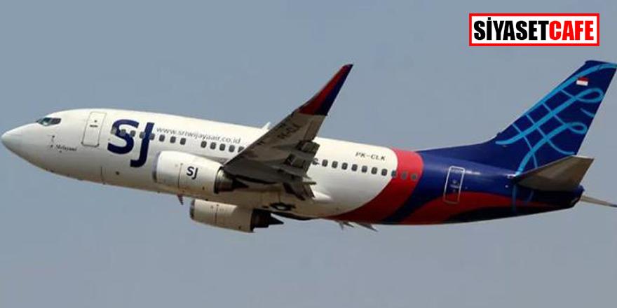 Endonezya'da 59 yolcusu bulunan uçak denize düştü