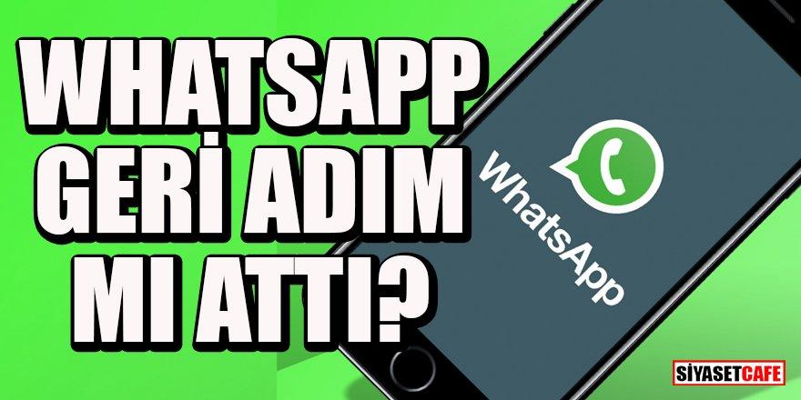 WhatsApp Gizlilik Sözleşmesi iptal mi edildi?