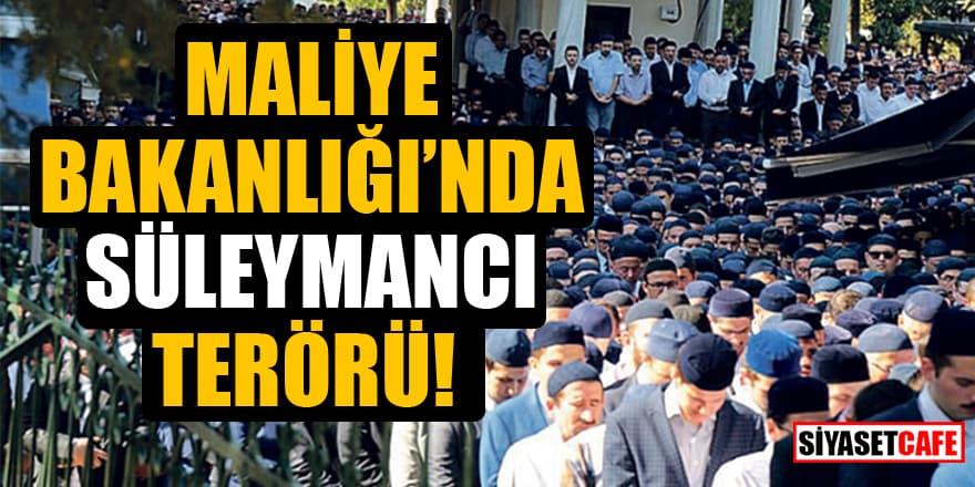 Maliye Bakanlığı'ndaki Süleymancıların küçük esnafa haksız ceza kestiği iddia edildi!