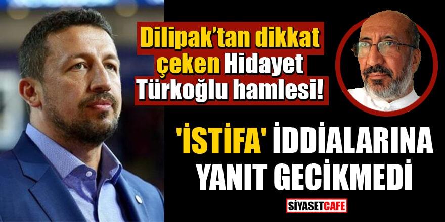 Hidayet Türkoğlu 'İstifa edecek' iddialarına yanıt verdi! Görevleri sona mı erdi?
