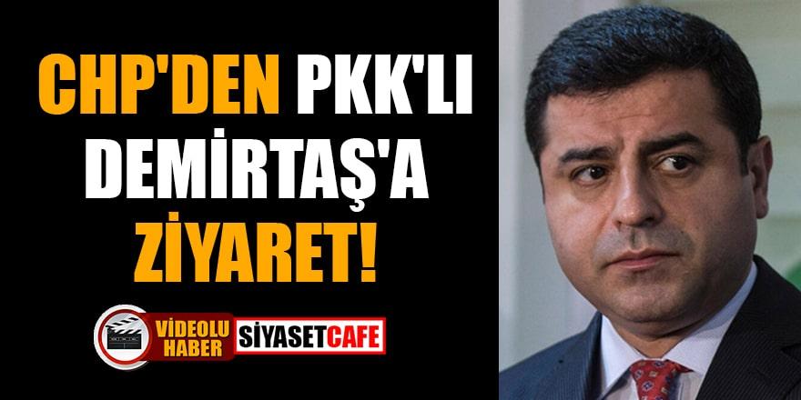CHP'den PKK'lı Demirtaş'a ziyaret!