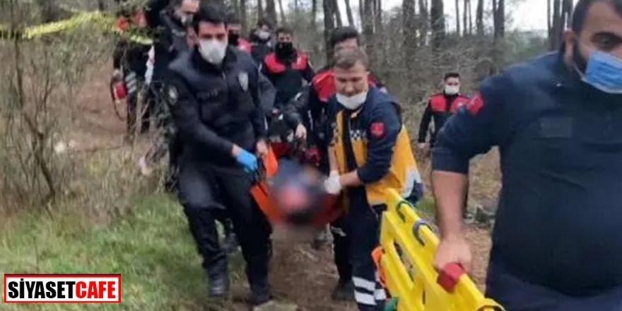 Ormanda polis memuru başından vurulmuş halde bulundu