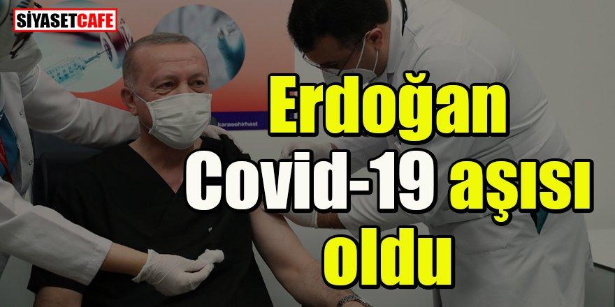 Erdoğan Ankara'da Covid-19 aşısı oldu