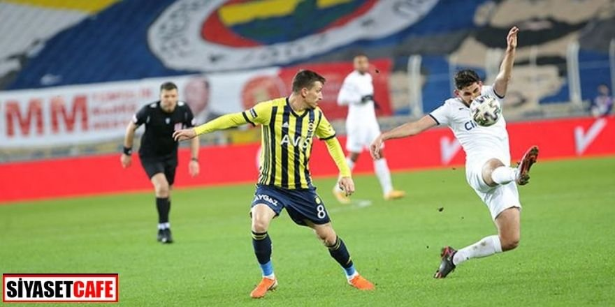 Fenerbahçe son çeyrek bileti kaptı