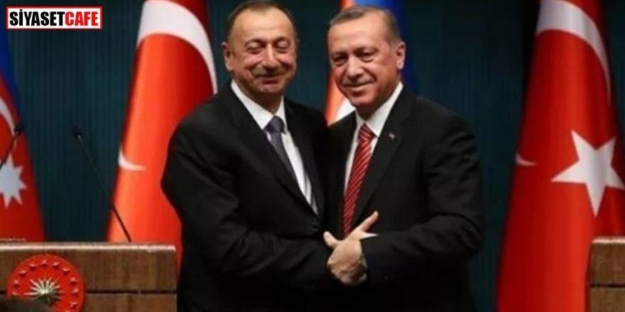Erdoğan ve Aliyev'den önemli görüşme