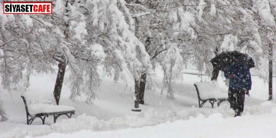 Meteoroloji'den uyarı: Kar 20 santimi aşacak