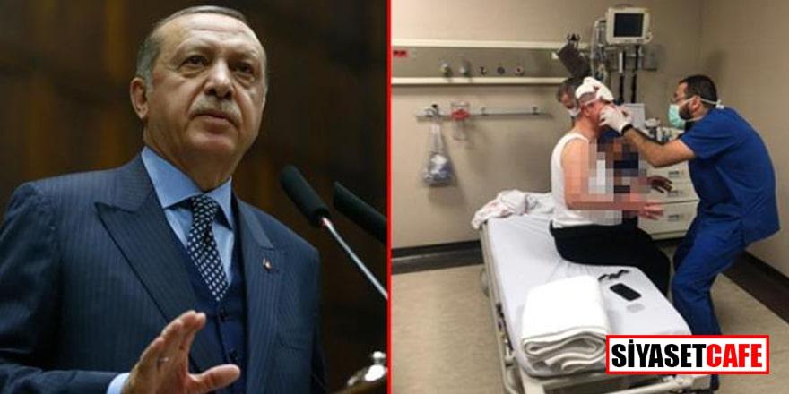 Erdoğan'dan Selçuk Özdağ'a geçmiş olsun telefonu