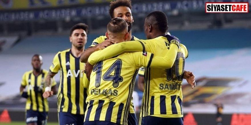 Liderlik savaşı sürüyor: Fenerbahçe 3-1 Ankaragücü