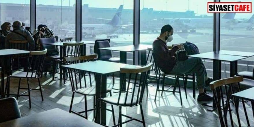 Koronavirüs korkusundan 3 ay havalimanına saklandı