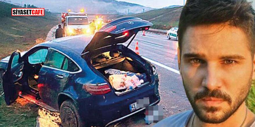 Arabası takla atan Tolgahan Sayışman ölümden döndü