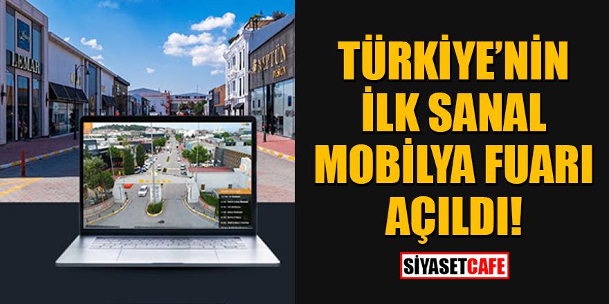 Türkiye'nin ilk sanal mobilya fuarı Modoko açıldı