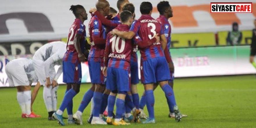 Trabzonspor, Konyaspor'u rahat geçti