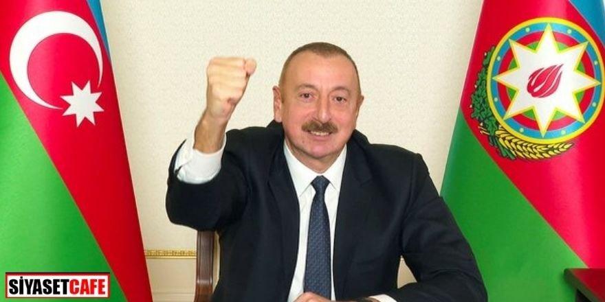 Aliyev'den TÜRKSOY'a teşekkür