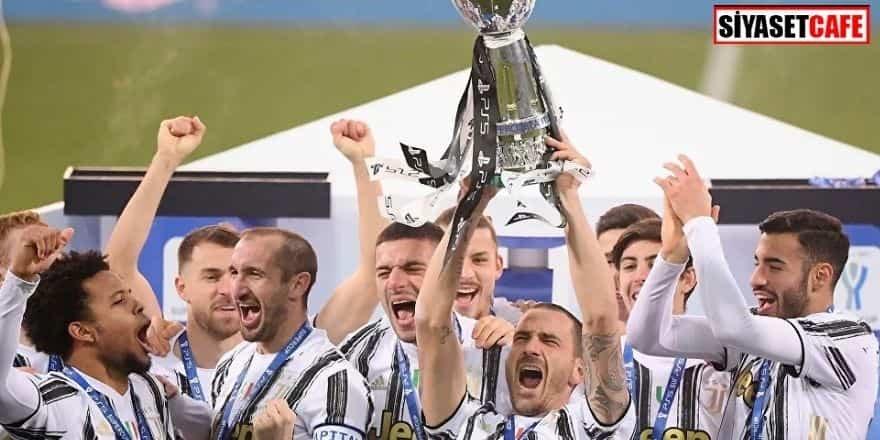 Süper Kupa'nın sahibi Juventus oldu