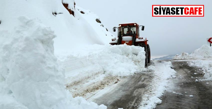 Kar, Kastamonu'da hayatı felç etti
