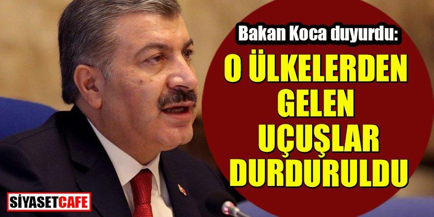 Türkiye bir ülkeye daha kapılarını kapattı