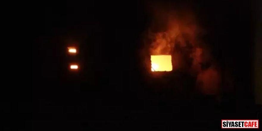 Uşak'ta korkutan yangın:1 Milyon TL hasar