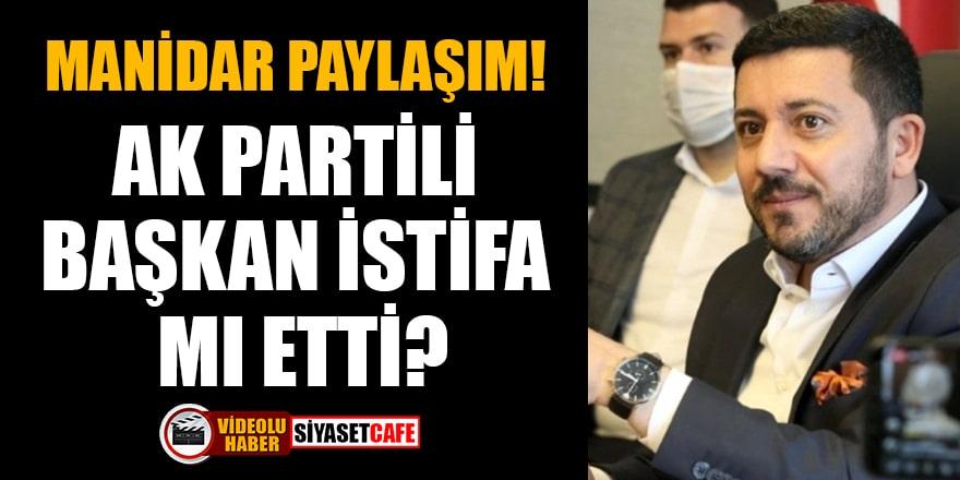 AK Partili Belediye Başkanı Rasim Arı istifa mı etti? Manidar paylaşım