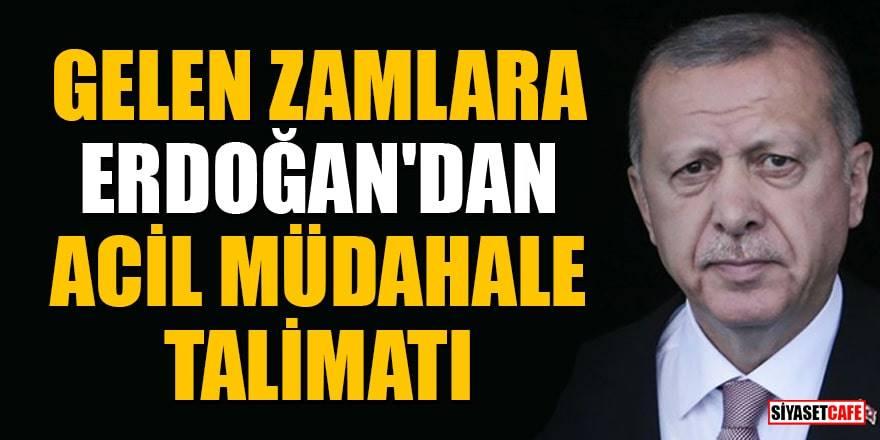 """Erdoğan'dan gıda zamları ile ilgili açıklama: """"Çözüme ulaştıracağız"""""""