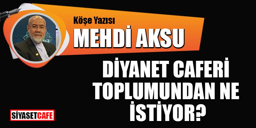 Mehdi Aksu yazdı: Diyanet Caferi toplumundan ne istiyor?