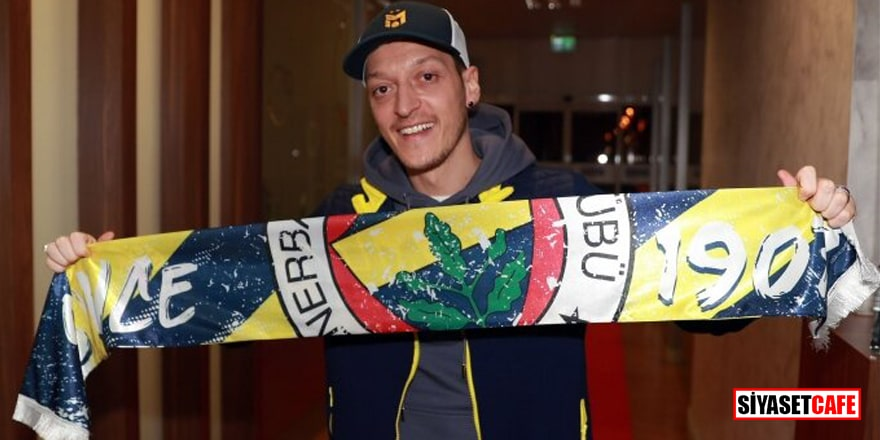 Fenerbahçe açıkladı! İşte Mesut Özil'in yıllık maaşı