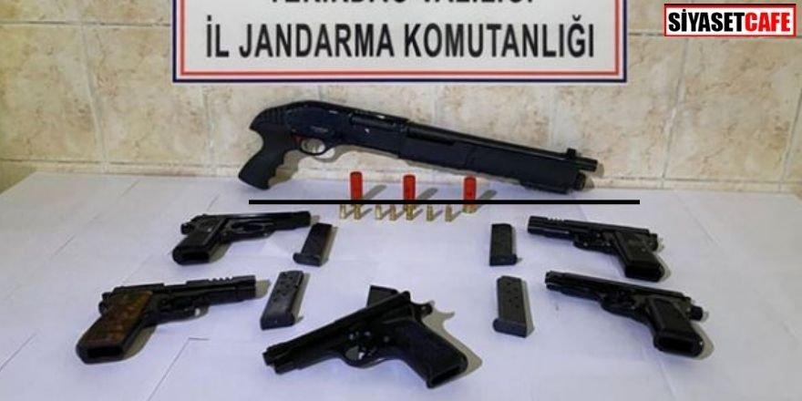 Tekirdağ'da operasyon: Araçtan cephane çıktı