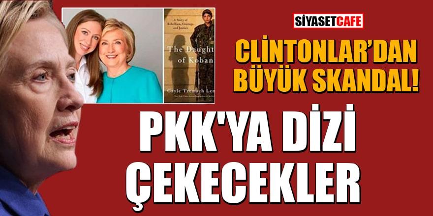 Clinton'lardan büyük skandal! PKK'ya dizi çekecekler