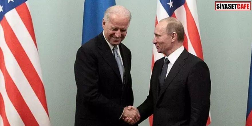 Önemli görüşme! Joe Biden'a ilk tebrik Putin'den