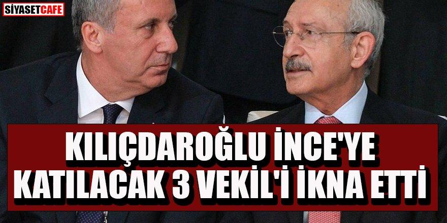 İnce'nin partisine katılacak vekillere Kılıçdaroğlu engeli