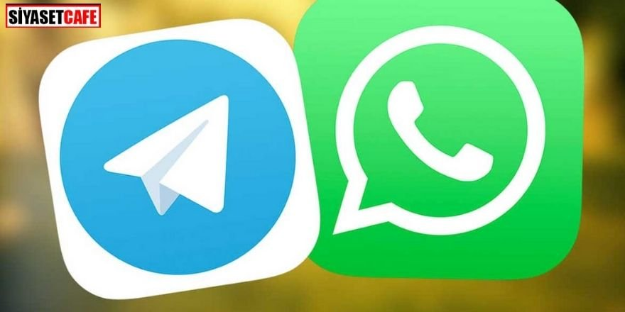 WhatsApp'tan Telegram'a darbe!