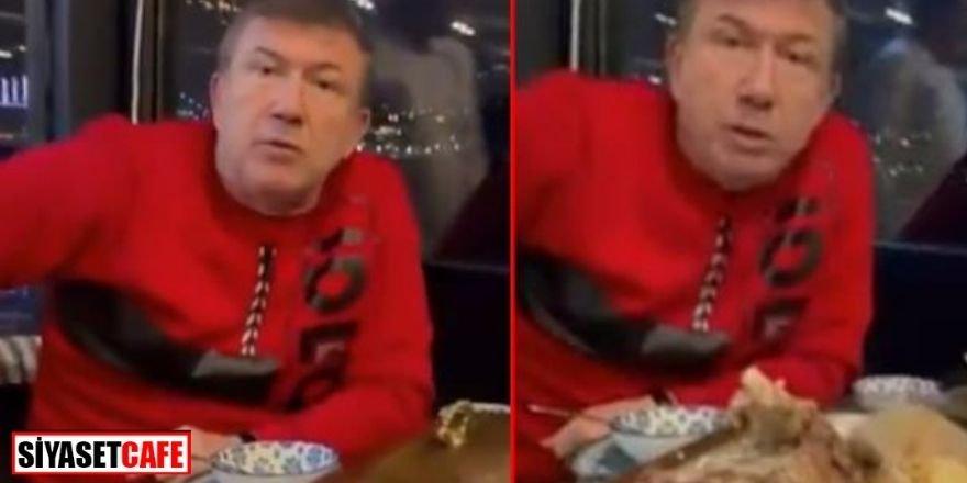 "Tanju Çolak'a 13 bin 876 lira ""kaz"" cezası"