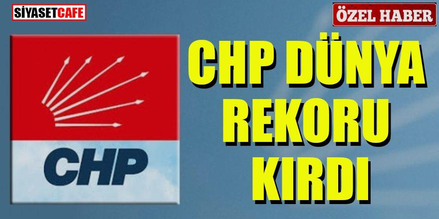 CHP dünya rekoru kırdı