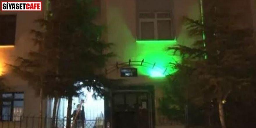 Ankara'da bir apartman mutasyonlu virüs iddiasıyla karantinaya alındı
