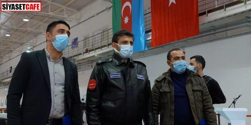 Bayraktar'dan 77 Azerbaycanlı asker mezun oldu