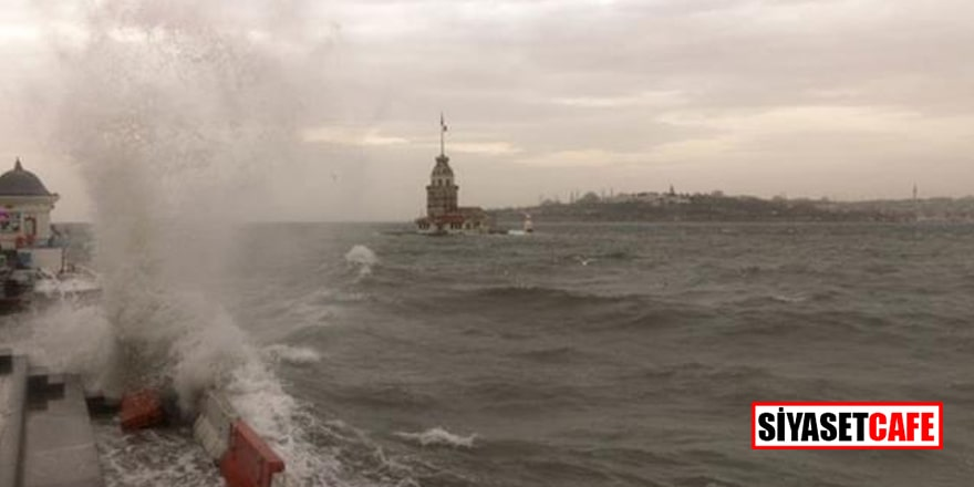 Bu gece başlıyor! Meteoroloji'den İstanbul için fırtına uyarısı