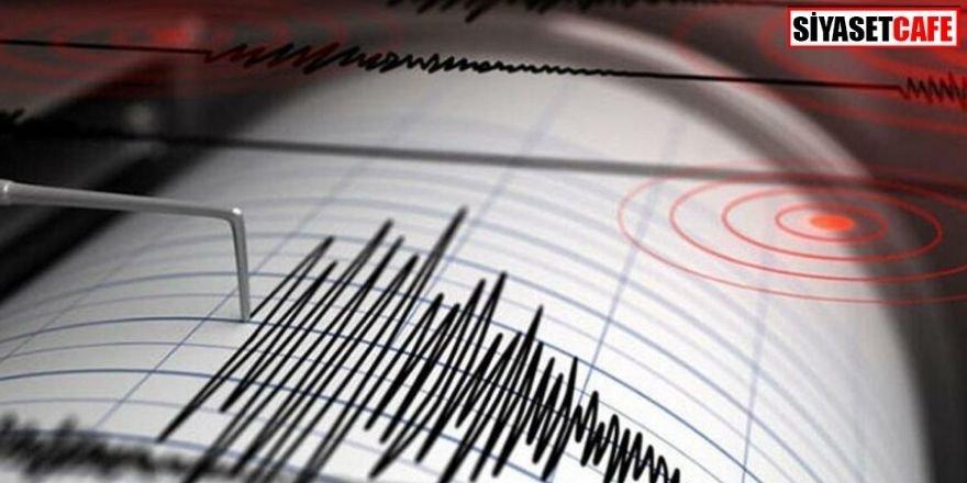 Son dakika: İzmir'de 4 büyüklüğünde deprem!