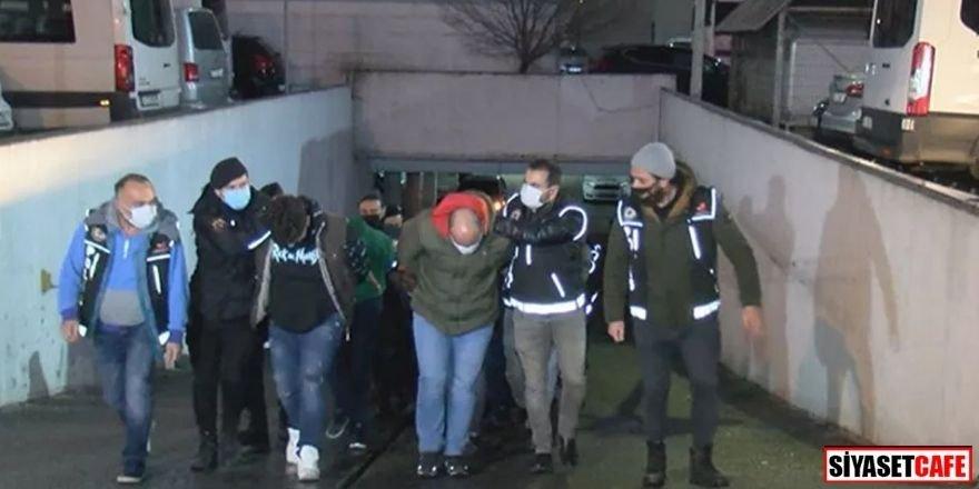 'Daltonlar' çetesi için operasyon: 44 tutuklama