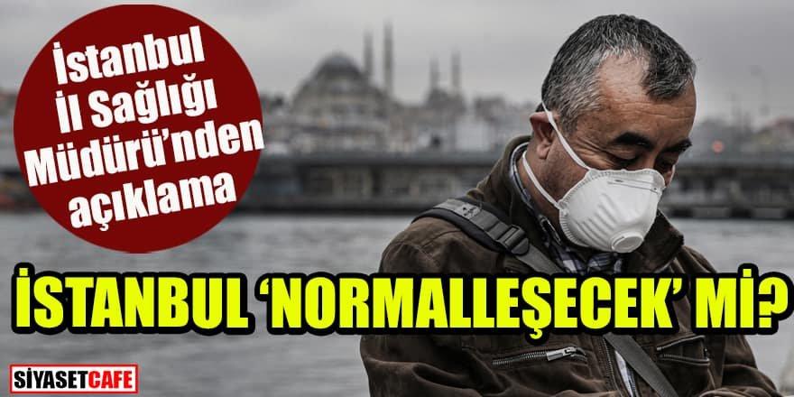 İstanbul İl Sağlık Müdürü'nden önemli açıklamalar