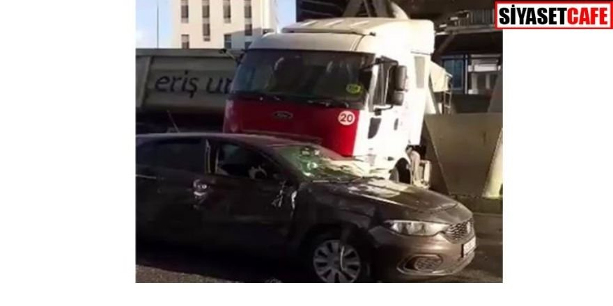 Feci kaza: Metrobüs köprüsünün ayağına çarparak durabildi