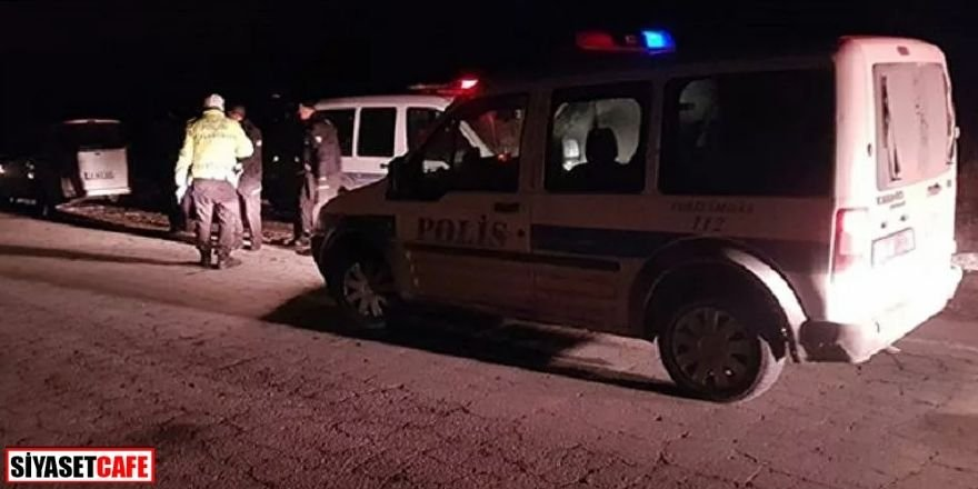 Polisi karşısında görünce bir avuç uyuşturucu hapı yuttu
